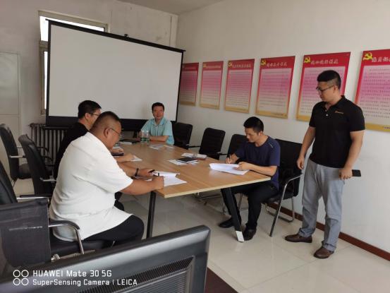 Chief of Taihe District Science and Technology Bureau and School of materials of Liaoning University of technology came to our company for investigation