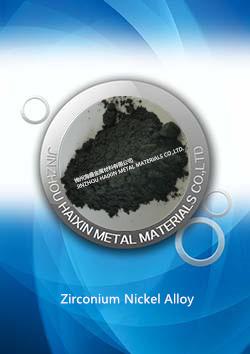 Zirconium Nickel Alloy, Zr-Ni