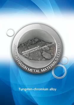 Tungsten-chromium alloy, W-Cr
